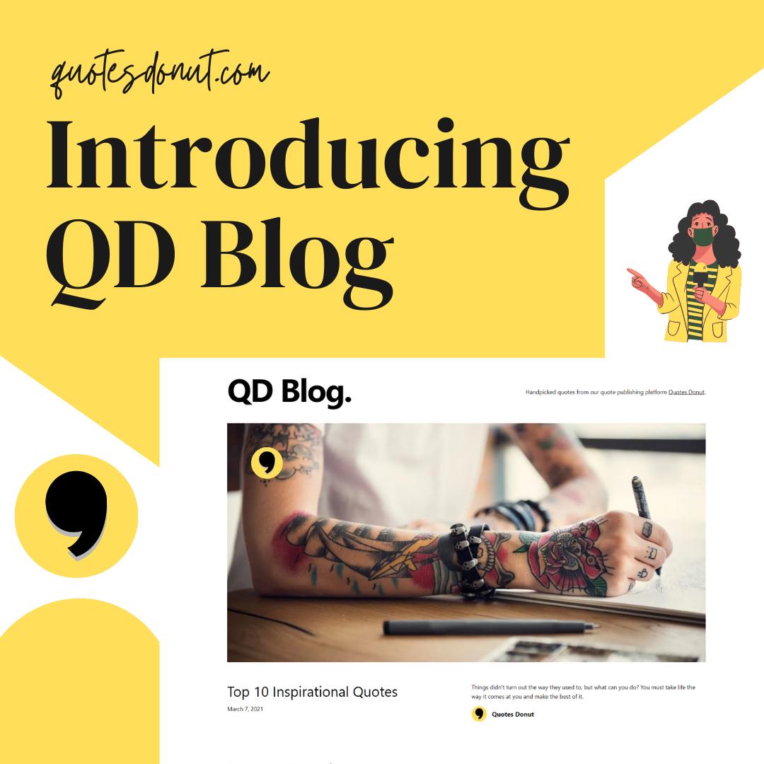 Introducing QD Blog - Quotes Donut